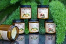 Christmas Candle Gift Set, Handmade Soy Candles, Holiday 6 pc Gift
