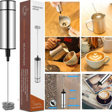 Milk Frother Electric Egg Beater Charging Mixer for Coffee Drink Portable