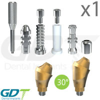 Angled Multi Unit One Piece Kit 30° For Conical NP Active Hex Dental Implant