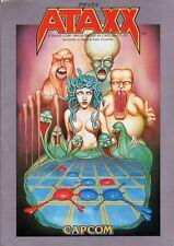 1990 Capcom Ataxx Video Flyer