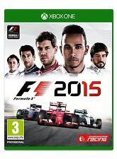 F1 2015 (XBOX ONE) BRAND NEW SEALED FORMULA ONE