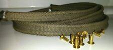 Land Rover Series 1 80 86 88 Front Panel Bonnet Rest Strip 300824 & Clips 68087