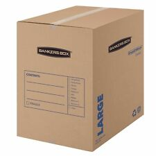 Bankers Box Smoothmove Basic Moving Boxes Large 18 X 18 X 24 Inches 7 Pack