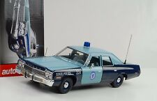1974 Dodge Mónaco massachussetts State Police 1:18 ertl auto World