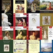 Jane Austen Collection of Audiobooks on mp3 DVD