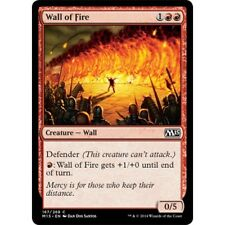 MTG core set M15 4x 4 x Wall of Fire x4 MINT PACK FRESH UNPLAYED 2015