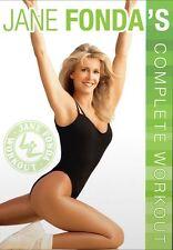 Jane Fonda's Complete Workout Fonda Fondas New DVD Region 4