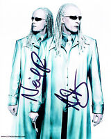 The Matrix TWINS SIGNED Autograph 10x8 Photo AFTAL COA Neil & Adrian RAYMENT