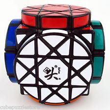Dayan Irregular Wheel Magic Cube Crazy Twist Puzzle Gift Intelligence Toys Black