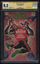 Green Lantern #64 CGC 8.5 OW/W Pgs Signature Series SS Signed Joe Giella DC