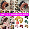 Women's Knot Tie Hairband Headband Wide Cross Hair Band Hoop Hair Accessories w7