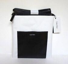 CALVIN KLEIN Black & White Cross Body Handbag Purse Messenger/Shoulder Bag NWT