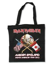 "IRON MAIDEN  Heavy Metal Band EDDIE THE TROOPER 14"" x 15"" TOTE SHOPPING BAG New"