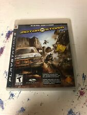MotorStorm PlayStation 3 PS3 Kids Atv Dirt Bike Game Complete with Manual