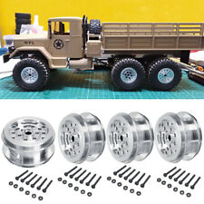 4× Upgrade Metall felgenrahmen für WPL B14 B16 B24 C14 C24 1/16 RC Militär Auto