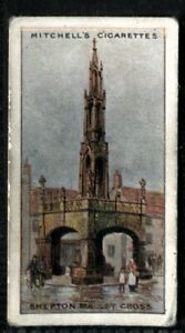 Tobacco Card, Mitchell, FAMOUS CROSSES, 1923, Shepton Mallet Cross, #17