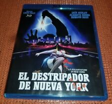 The New York Ripper Blu-ray EL DESTRIPADOR DE NUEVA YORK Lucio Fulci