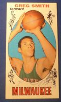 GREG SMITH signed autograph 1969-70 Topps trading card Milwaukee Bucks