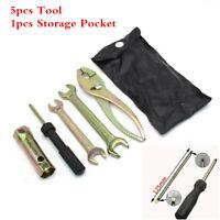 Motorcycle Screwdriver Pliers Wrench Spark Plug Sleeve Remover Repair Tool Kit