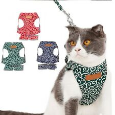 Cat Harness Pet Dog Cat Harness Vest Collar Outdoor Walking Leash Japanese Style