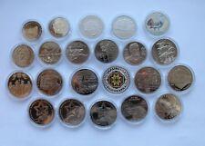 Full Set Ukraine 2013 Non-precious Coins 2+5 Hryvnia 22 coins UNC Nickel Bimetal