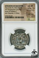 336-323 BC Kingdom of Macedon Alexander III The Great Silver Tetradrachm NGC VF