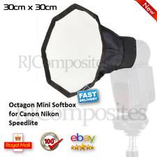 Flash Diffuser Octagon Softbox for Canon SLR Speedlite Photo Studio 30cm