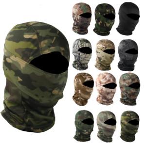 Tactical Camouflage Balaclava Hunting Face Mask Scarf Headwear Bandana Cover