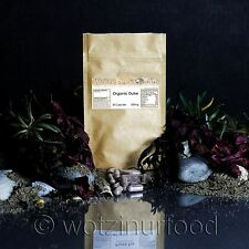 Organic Dulse Seaweed Capsules 500mg Thyroid Nerves Brain Immunity Circulation