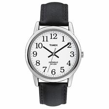 Timex T20501 Water Resistant Mens Easy Reader Leather Strap Analogue Wrist Watch