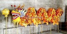 6m 4 adult Gold plated CHINESE DRAGON DANCE Dragon Boat Festival parade stage