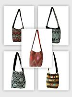 New Hobo Hippie Bohemian Ethnic Cotton Shoulder Crossbody Boho Sling Bag Purse