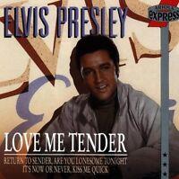 Elvis Presley Love me tender (compilation, 16 tracks, BMG/AE) [CD]