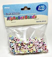 Allary Craft & Hobby #874-01 Alphabet Beads, 275pcs