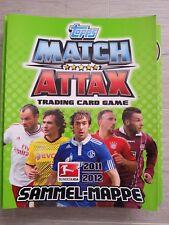5 Karten zum Aussuchen - Match Attax - Trading Card Game - 11/12 - Bundesliga