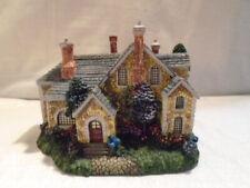 Thomas Kinkade Spring Gate Manor Hawthorne Lamp Light Village Sculpture Cottage