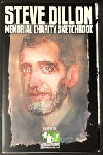 STEVE DILLON Memorial Charity Sketchbook PREACHER Sean Phillips BILL SIENKIEWICZ
