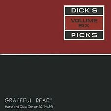 GRATEFUL DEAD - DICK'S PICKS, VOL. 6: HARTFORD CIVIC CENTER 10/14/83 NEW CD
