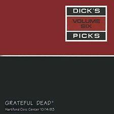 GRATEFUL DEAD - DICK'S PICKS, VOL. 6: HARTFORD CIVIC CENTER 10/14/83 NEW CD