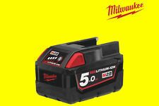 BATTERIA ORIGINALE MILWAUKEE M18B5 IONI DI LITIO 5AH 18V