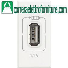 AXOLUTE HD4285C1 CARICATORE USB 1.1A BIANCO