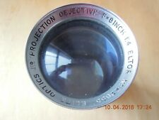 "Eltor 8"" Objectif de projection. ""Elite Optics"" projection lens. PRIX EN BAISSE"