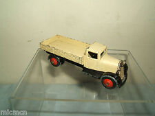 "VINTAGE DINKY TOYS  MODEL No.25a OPEN WAGON    ""  CREAM & RED HUBS VERSION """