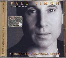 PAUL SIMON - Greatest hits - Shining like a national guitar - CD 2000 NEAR MINT