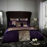 Luxurious Sequin Diamante Bedding Set Aranami Duvet Quilt Cover Pillow Case