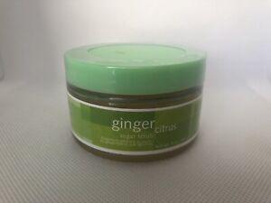 New Arbonne Ginger Citrus Sugar Sugar Scrub 5 oz Sealed