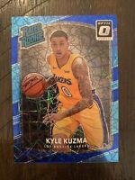 2017-18 Donruss Optic - Kyle Kuzma Blue Velocity Rated Rookie Prizm Lakers