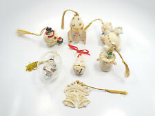 Lot of 7 Lenox Christmas Ornaments, with boxes