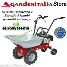 Motocarriola Carriola a Ruote EUROSYSTEMS CARRY  motore HONDA benzina Semovente