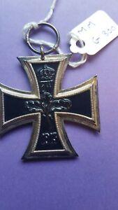 Orig WW1 German Iron Cross maker marked G 800